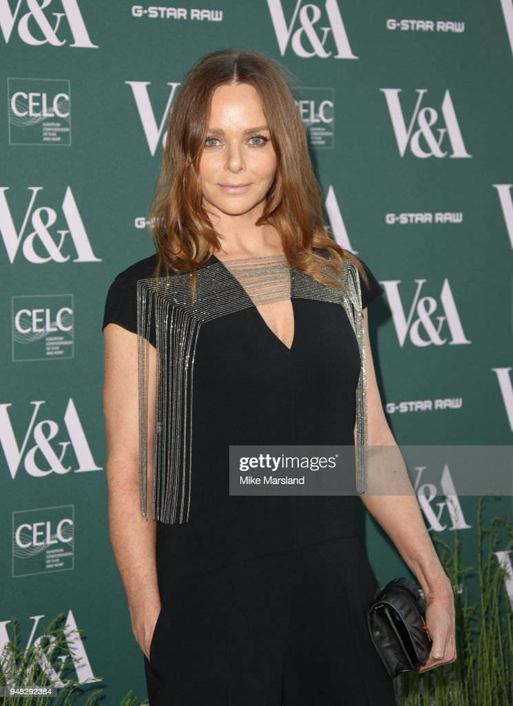 Fashioned From Nature VIP Preview At V&A Museum - Red Carpet Arrivals : News Photo