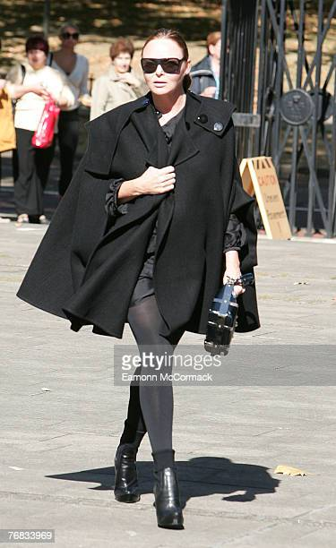 Stella McCartney attends the Isabella Blow Memorial Service at Guards Chapel on September 18, 2007 in London, England.