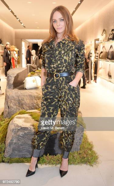 Stella McCartney attends the launch of the Stella McCartney Global flagship store on Old Bond Street on June 12 2018 in London England