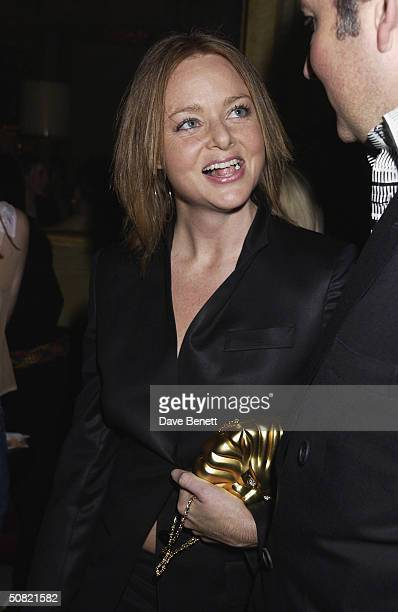 Stella McCartney attends the MAC Cosmetics Charity Party to support Aids in London in honour of Mary J Blige at The Criterion Restaurant on April 23...