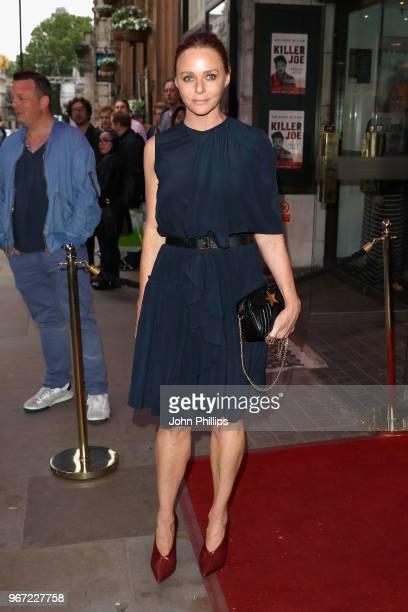 Stella McCartney attends the opening night of 'Killer Joe' at Trafalgar Studios on June 4 2018 in London England