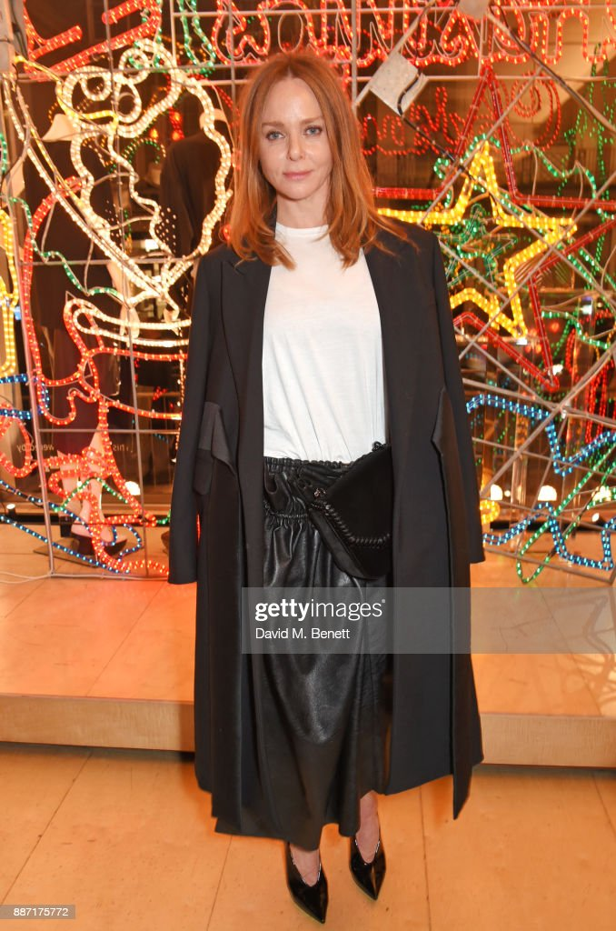 Stella McCartney attends the Stella McCartney Christmas Lights 2017 party on December 6, 2017 in London, England.