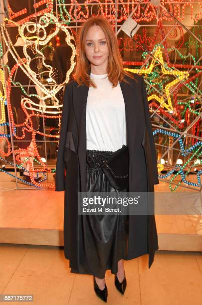 Stella McCartney attends the Stella McCartney Christmas Lights 2017 party on December 6 2017 in London England