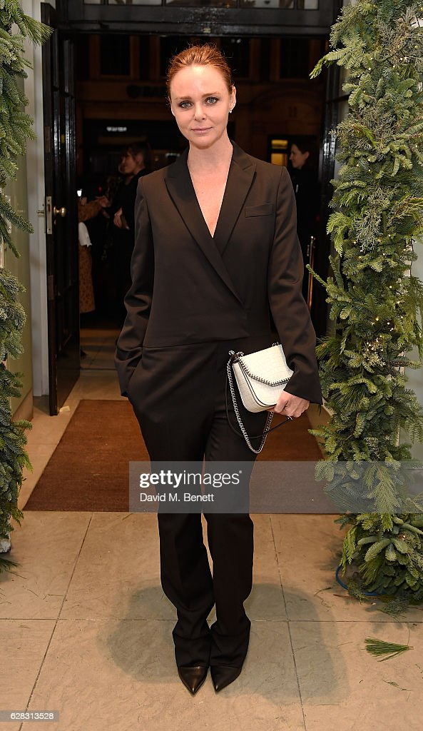 Stella McCartney Christmas Lights : News Photo