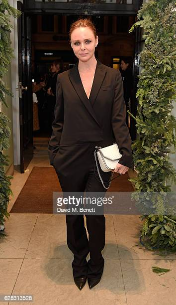 Stella McCartney attends the Stella McCartney Christmas Lights switch on at the Stella McCartney Bruton Street Store on December 7 2016 in London...