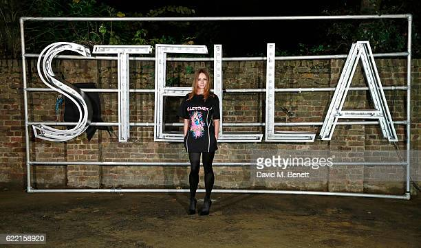 Stella McCartney attends the Stella McCartney Menswear launch and Women's Spring 2017 collection presentation at Abbey Road Studios on November 10...