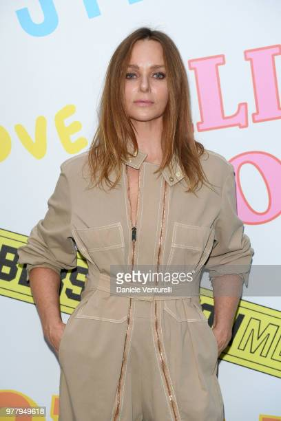 Stella McCartney attends the Stella McCartney photocall during Milan Men's Fashion Week Spring/Summer 2019 on June 18 2018 in Milan Italy