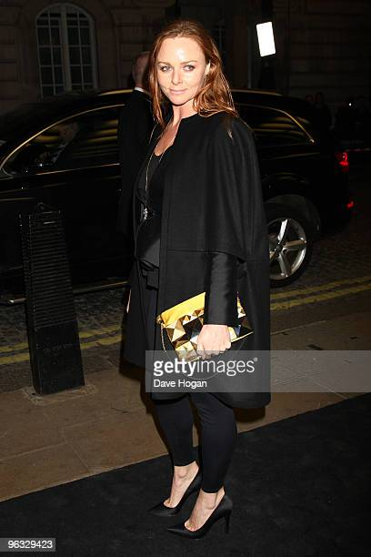Stella McCartney attends the UK premiere for 'A Single Man' held the at The Curzon Mayfair on February 1 2010 in London England