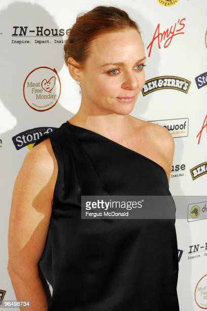 Stella McCartney attends the UK premiere for 'Food Inc' held the at The Curzon Mayfair on February 8 2010 in London England