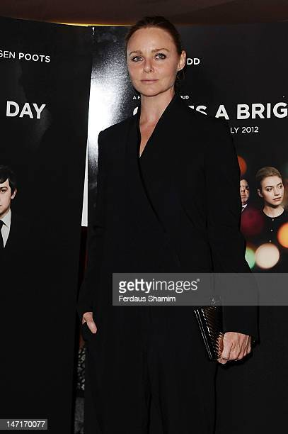 Stella McCartney attends the UK premiere of 'Comes A Bright Day' at The Curzon Mayfair on June 26, 2012 in London, England.
