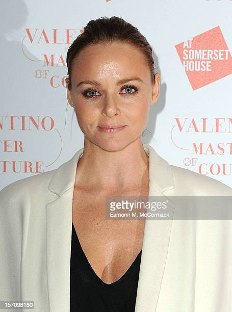 Stella McCartney attends the VIP view of Valentino Master of Couture at Embankment Gallery on November 28 2012 in London England