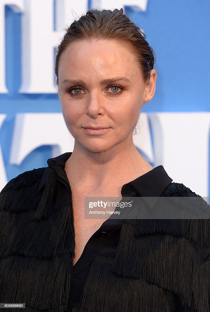 Stella McCartney attends the World premiere of 'The Beatles: Eight Days A Week - The Touring Years' at Odeon Leicester Square on September 15, 2016 in London, England.