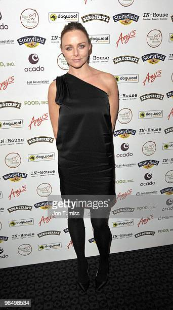 Stella McCartney attends VIP Screening of the Oscar nominated 'Food Inc' at The Curzon Mayfair on February 8, 2010 in London, England.