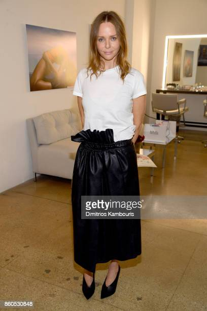 Stella McCartney attends Vogue's Forces of Fashion Conference at Milk Studios on October 12 2017 in New York City