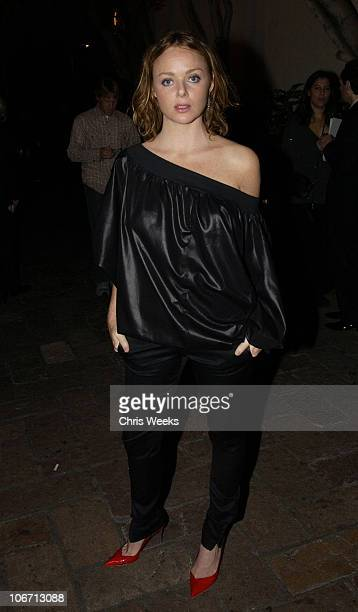 Stella McCartney during Party Announcing the Partnership Between Fashion Designer Stella McCartney and Absolut at Chateau Marmont Hotel in West...