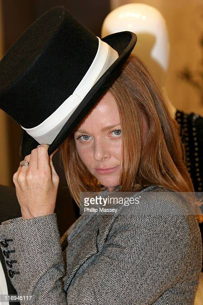 Stella McCartney during Stella McCartney Window November 7 2005 at Brown Thomas Grafton Street in Dublin Ireland