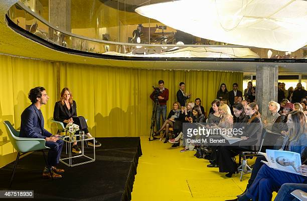 Stella McCartney in Conversation with Imran Amed on March 25 2015 in London England