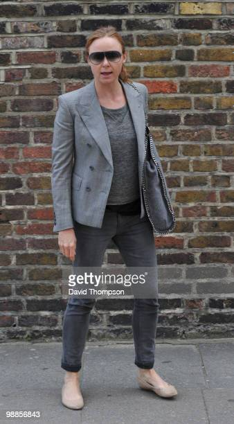 Stella McCartney is sighted on May 5 2010 in London England
