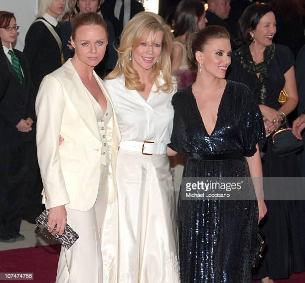 Stella McCartney Kim Basinger and Scarlett Johansson