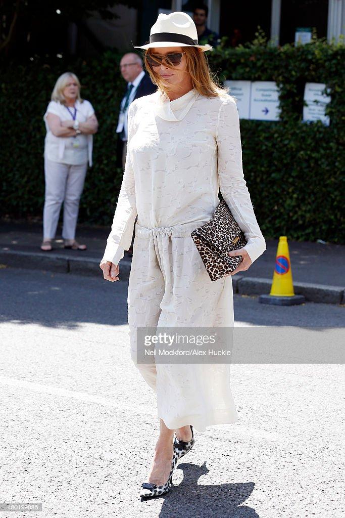 London Celebrity Sightings - July 10, 2015 : News Photo
