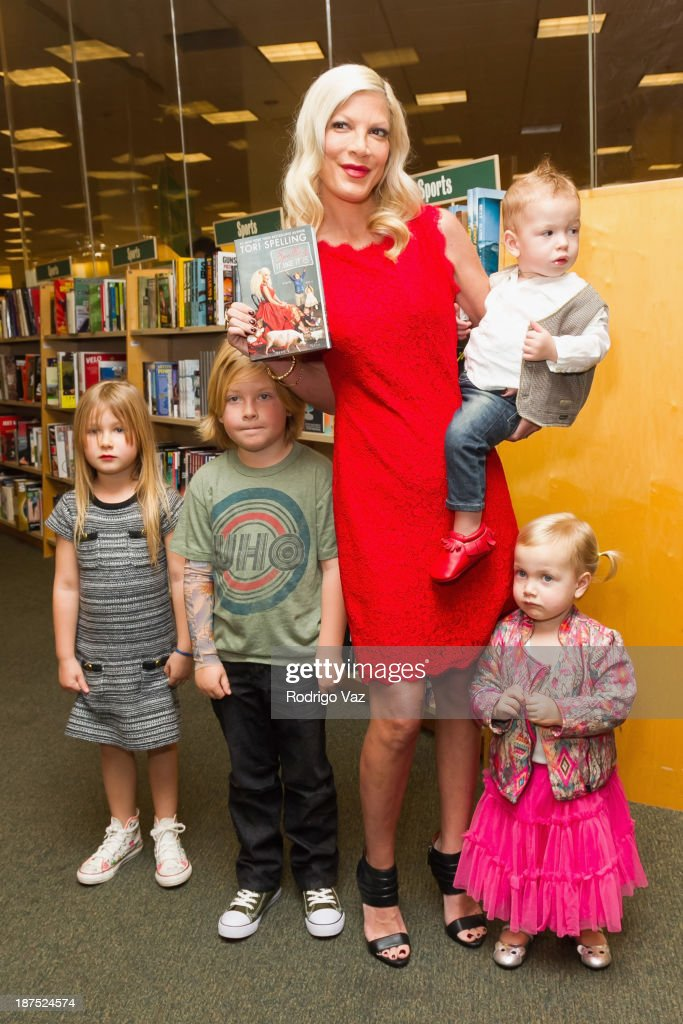 "Tori Spelling Signs Copies Of Her New Book ""Spelling It Like It Is"""
