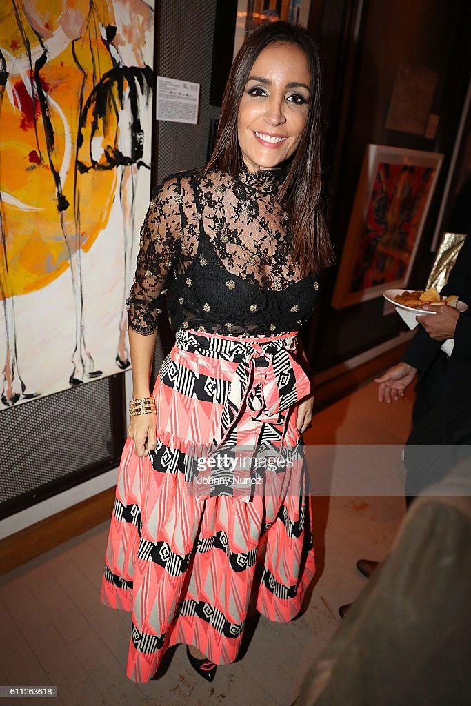Stella Nolasco attends 2nd Annual Artz Cure Sarcoma Benefit Auction at Corkbuzz Restaurant & Wine Bar on September 28, 2016 in New York City.