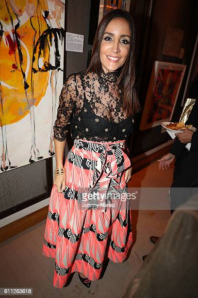 Stella Nolasco attends 2nd Annual Artz Cure Sarcoma Benefit Auction at Corkbuzz Restaurant Wine Bar on September 28 2016 in New York City