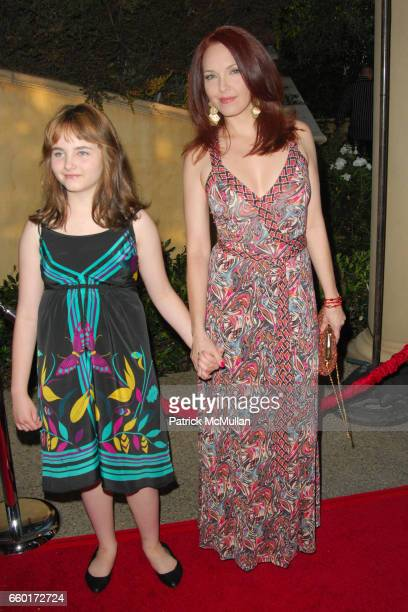 Stella Ritter and Amy Yasbeck attend 11th Annual DesignCare Event for The HollyRod Foundation at Private Residence on July 25, 2009 in Beverly Hills,...