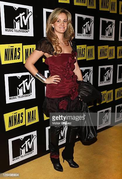 Stella Simona attends the MTV Niñas Mal Soap Opera party at Ragga Antara Polanco on December 1 2010 in Mexico City Mexico