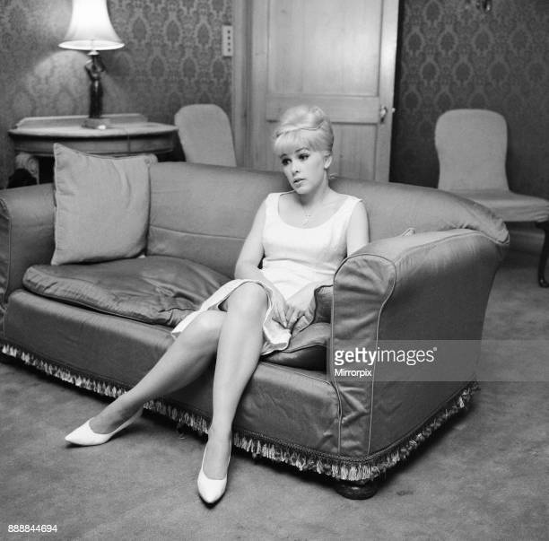 Stella Stevens American film television and stage actress pictured in hotel suite London 16th November 1964 Stella Stevens is in the UK to promote a...