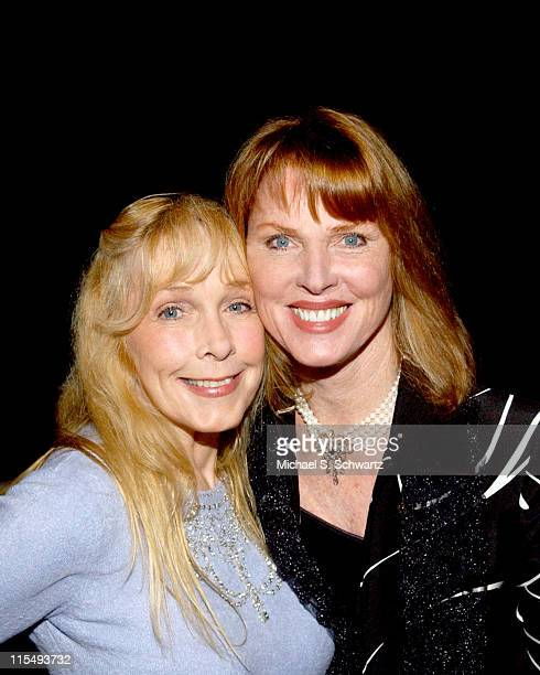 Stella Stevens and Mariette Hartley during The 20th Annual Charlie Awards at The Hollywood Roosevelt Hotel in Hollywood California United States