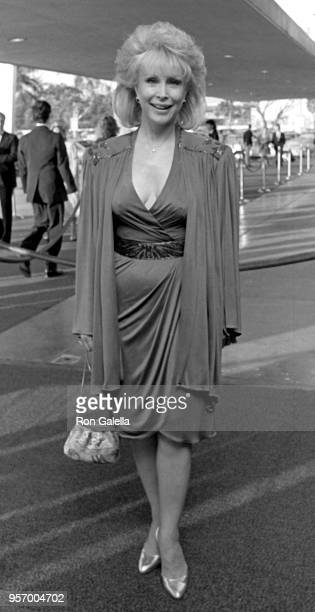 Stella Stevens attends Television Academy Hall of Fame Awards on March 24 1985 at the Santa Monica Civic Auditorium in Santa Monica California
