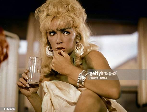 Stella Stevens in a scene from the film 'Rage' 1966