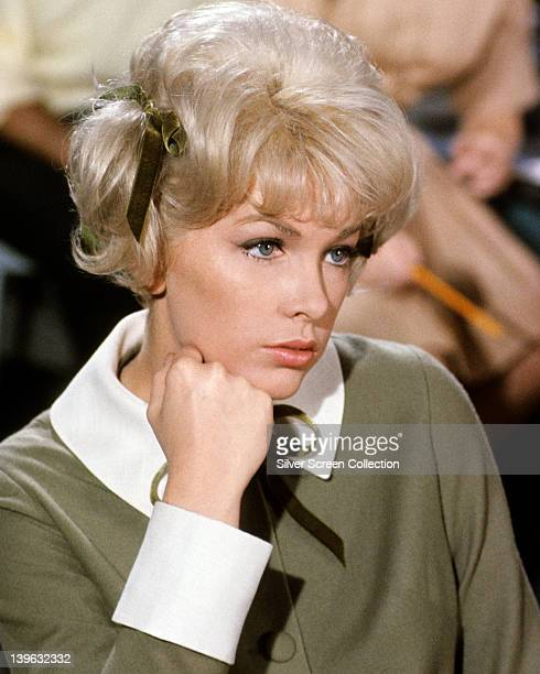 Stella Stevens US actress in a publicity portrait issued for the film 'The Nutty Professor' USA 1963 The comedy directed by Jerry Lewis starred...