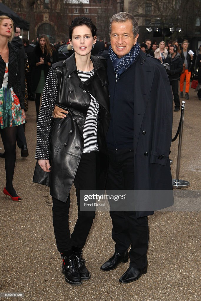 Burberry Prorsum: London Fashion Week A/W 2011 - Arrivals