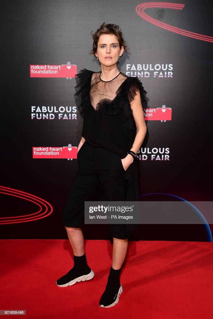 Stella Tennant attending the Naked Heart Foundation Fabulous Fun dFair held at The Roundhouse in Chalk Farm, London.