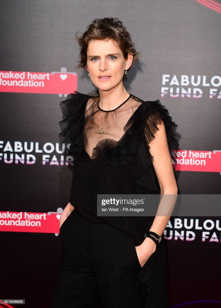 Stella Tennant attending the Naked Heart Foundation Fabulous Fund Fair held at The Roundhouse in Chalk Farm, London. PRESS ASSOCIATION Photo. Picture date: Tuesday February 20, 2018. Photo credit should read: Ian West/PA Wire.