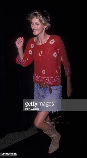 Stella Tennant attends 35th Anniversary Party Honoring Emanuel Ungaro on September 5 2001 at the Armory in New York City