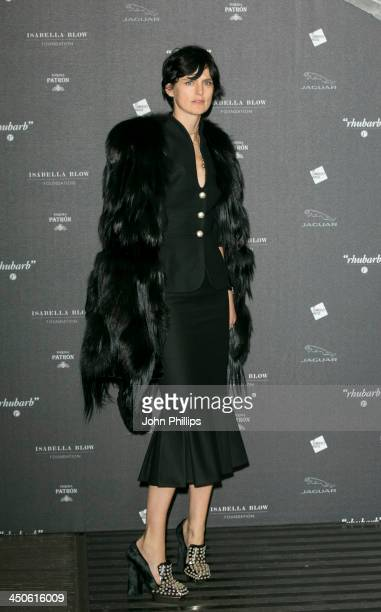 Stella Tennant attends Isabella Blow Fashion Galore at Somerset House on November 19 2013 in London England