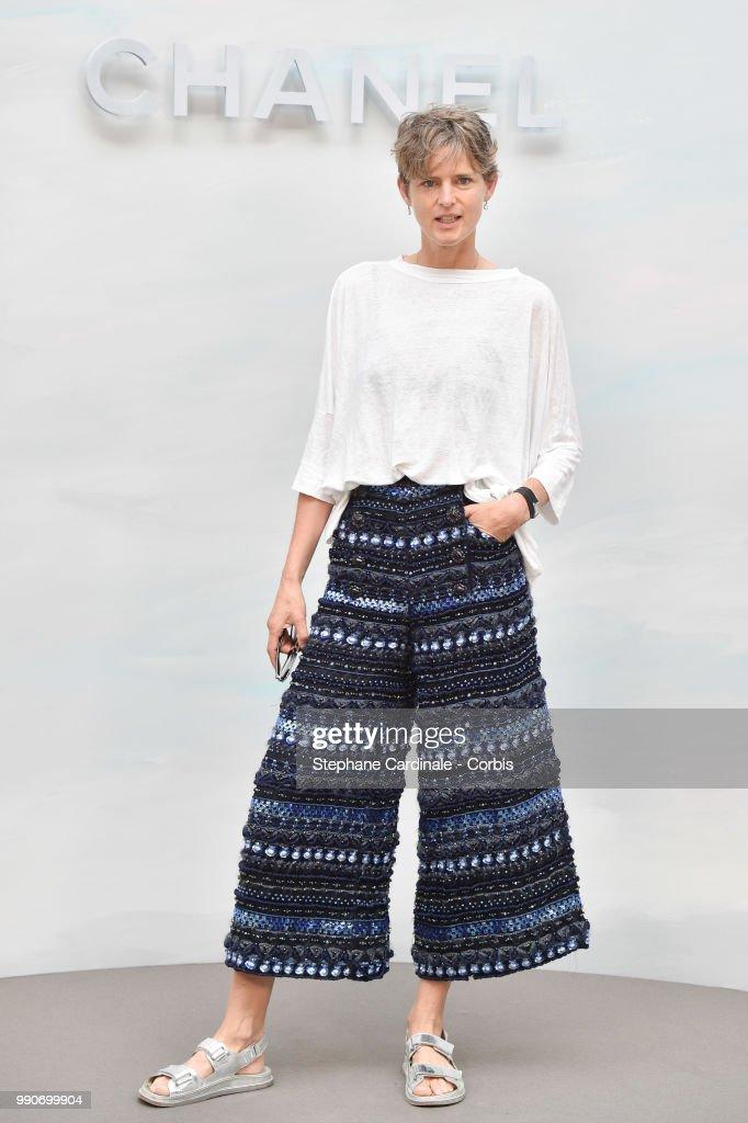 Chanel : Photocall - Paris Fashion Week - Haute Couture Fall/Winter 2018-2019