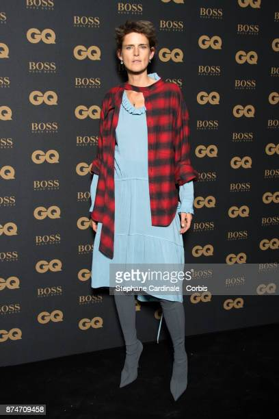 Stella Tennant attends the GQ Men Of The Year Awards 2017 at Le Trianon on November 15 2017 in Paris France