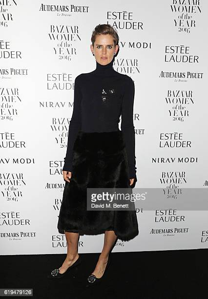 Stella Tennant attends the Harper's Bazaar Women of the Year Awards 2016 at Claridge's Hotel on October 31 2016 in London England