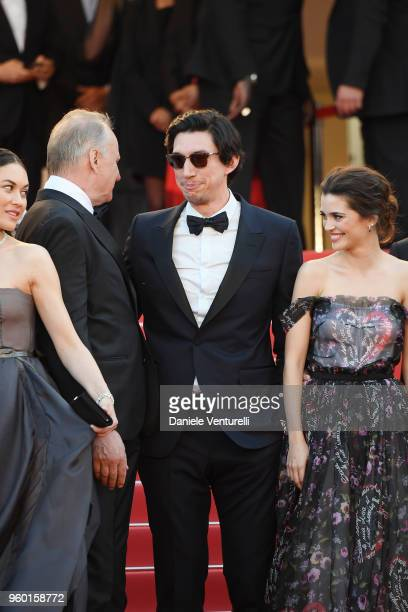 Stellan Skarsgard Adam Driver and Joana Ribeiro attend the Closing Ceremony screening of 'The Man Who Killed Don Quixote' during the 71st annual...