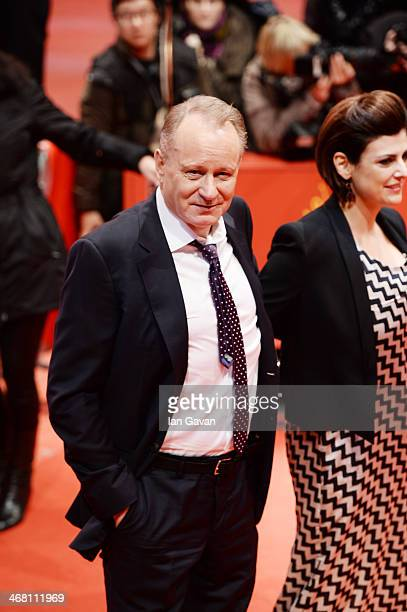 Stellan Skarsgard and his wife Megan attend the 'Nymphomaniac Volume I ' premiere during 64th Berlinale International Film Festival at Berlinale...
