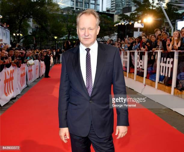 Stellan Skarsgard attends the 'Borg/McEnroe' premiere during the 2017 Toronto International Film Festival at Roy Thomson Hall on September 7 2017 in...