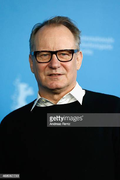 Stellan Skarsgard attends the 'Nymphomaniac Volume I ' photocall during 64th Berlinale International Film Festival at Grand Hyatt Hotel on February 9...
