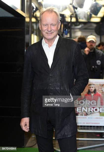 Stellan Skarsgard attends the UK premiere of 'Borg vs McEnroe' at the Curzon Mayfair on September 14 2017 in London England