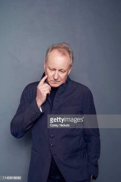 Stellan Skarsgard of the HBO series 'Chernobyl' poses for a portrait during the 2019 Tribeca Film Festival at Spring Studio on April 25 2019 in New...