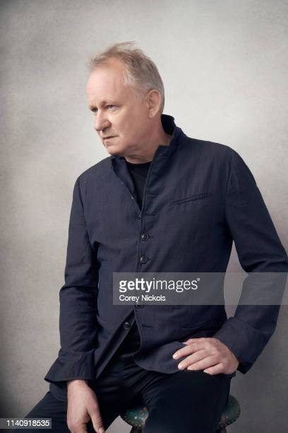Stellan Skarsgard of the HBO series 'Chernobyl' poses for a portrait during the 2019 Tribeca Film Festival at Spring Studio on April 25, 2019 in New...