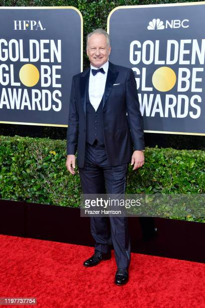 Stellan Skarsgård attends the 77th Annual Golden Globe Awards at The Beverly Hilton Hotel on January 05 2020 in Beverly Hills California